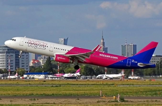 Wizz Air: W 2020 r. zaoferuje 0,5 mln więcej miejsc na trasach z Polski