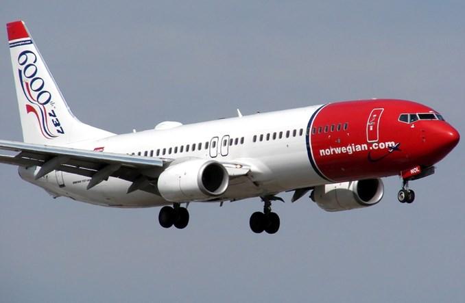 Norwegian uruchomi od lipca cztery nowe krótkie trasy