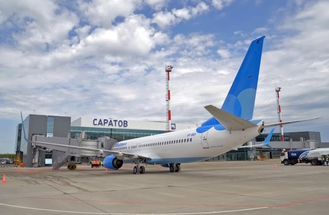 Lotnisko im. Gagarina w Saratowie zainugurowało działalność (Zdjęcia)