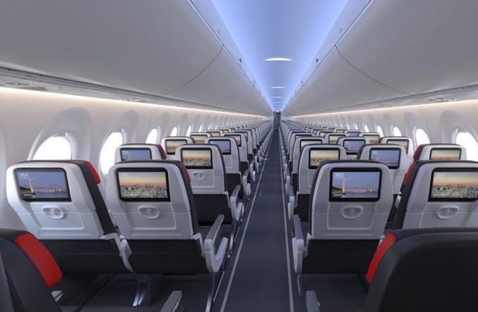 Pierwszy lot airbusa A220-300 dla Air Canada