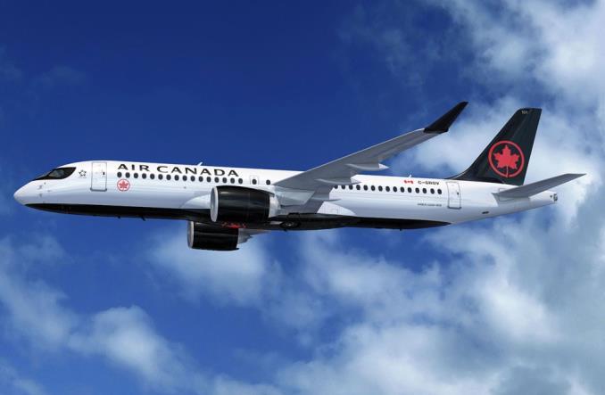 Air Canada: A220 zadebiutuje w 2020 r. (Zdjęcia)