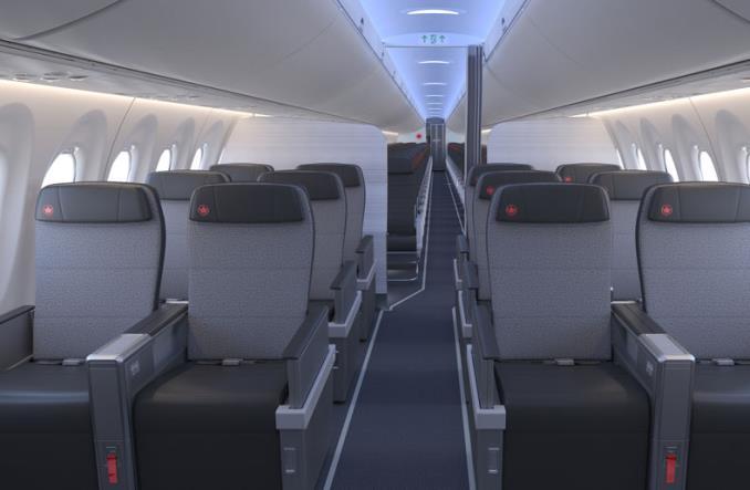 Air Canada odebrała pierwszego airbusa A220-300 (Zdjęcia)