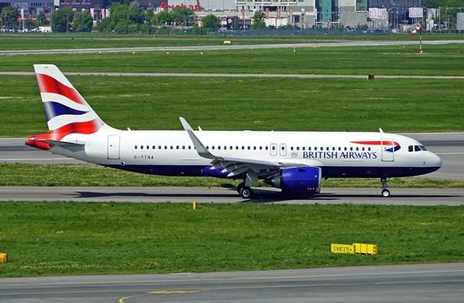 British Airways od początku roku rekompensuje emisje z lotów krajowych