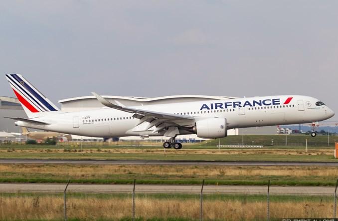 Air France formalnie przejmuje zamówienie A350 KLM-u