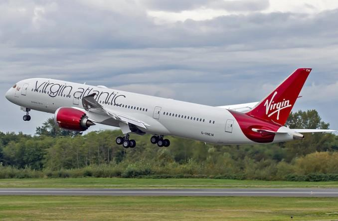 Virgin Atlantic poleci do Sao Paulo. Code-share z linią GOL