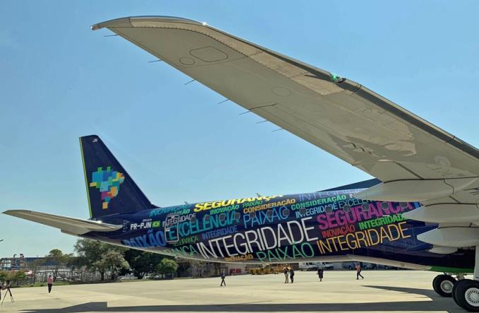 Embraer dostarczył pierwszego E195-E2 do linii AZUL