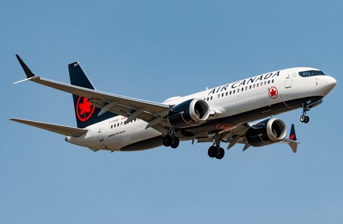 Air Canada wznowią od lutego loty boeingami 737 MAX