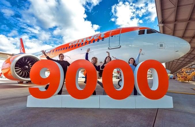 Airbus dostarczył 9000. samolot z rodziny A320