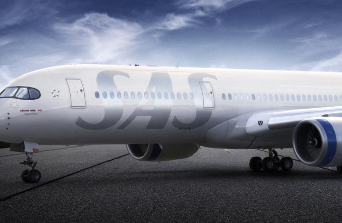 SAS zaprezentował nowe malowanie samolotów