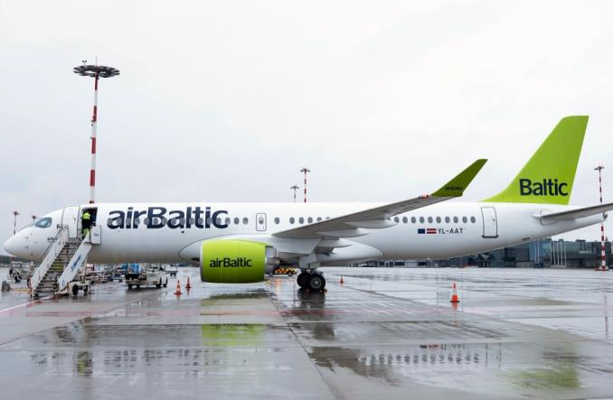 airBaltic odebrał 20. airbusa A220-300