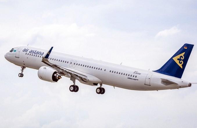 Air Astana odebrała pierwszego airbusa A321LR