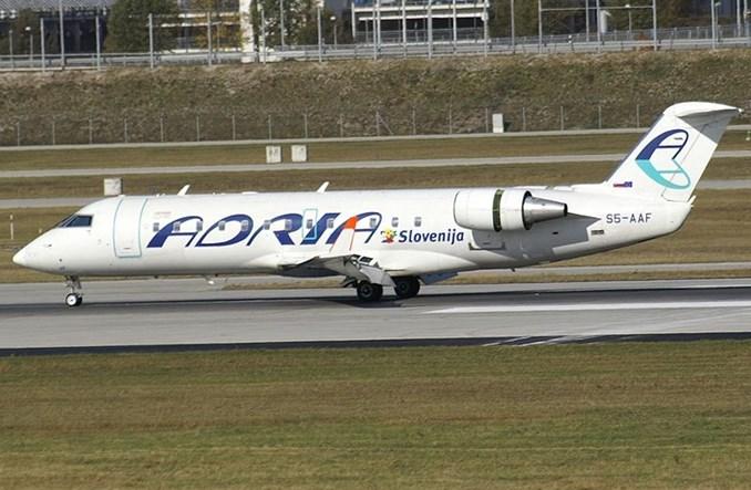Przedłuża się zawieszenie lotów Adria Airways