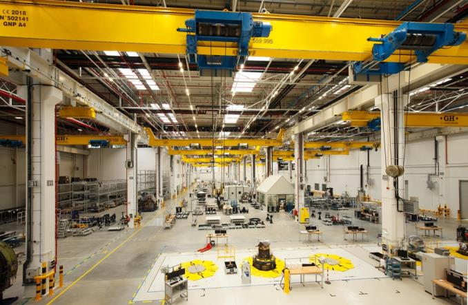 Centrum Serwisowania Silników Lotniczych XEOS oficjalnie otwarte (Zdjęcia)