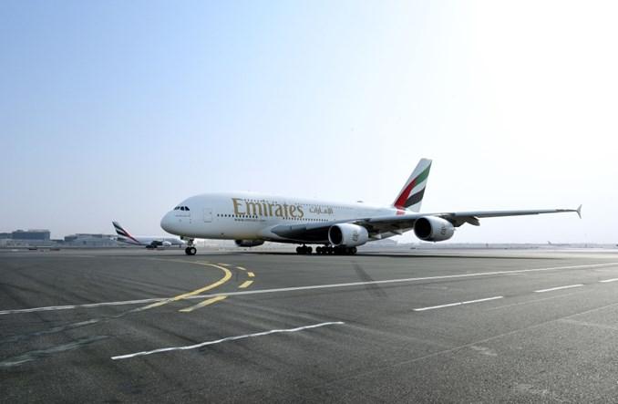 Airbus A380 linii Emirates po raz pierwszy w Kairze