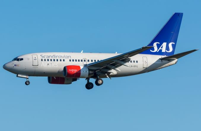 SAS: Ostatni lot B737-600