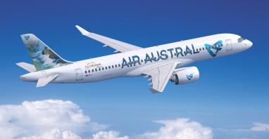 Airbus i Air Austral zawarły umowę na trzy Airbusy A220