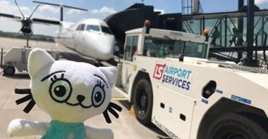 Kicia Kocia na lotnisku: Tak LS promuje lotnictwo wśród najmłodszych