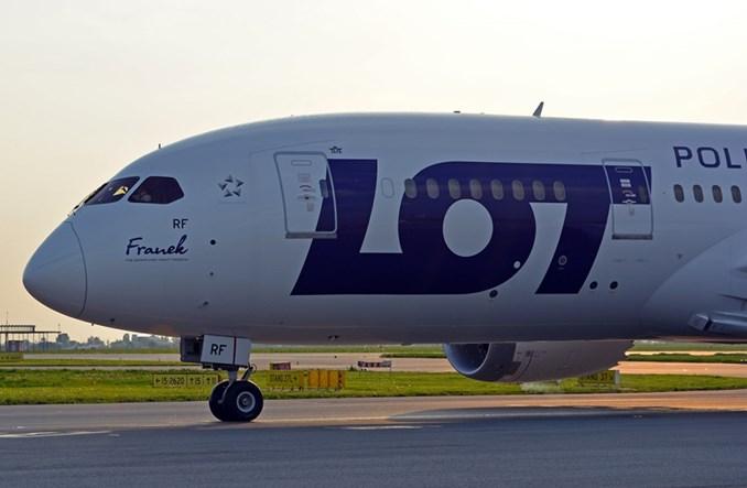 Franek LOT-u poleciał na przegląd do Emiratów