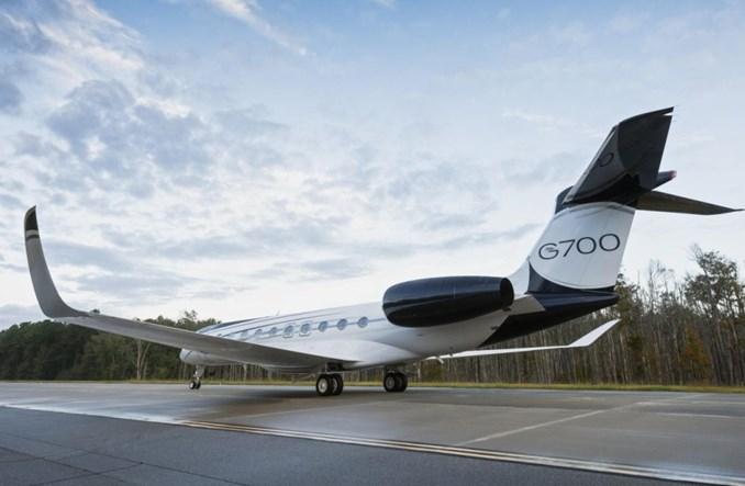 Gulfstream pokazuje G700. Pierwsze dostawy w 2022