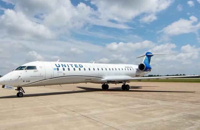 United prezentuje pierwszego bombardiera CRJ550 (Zdjęcia)