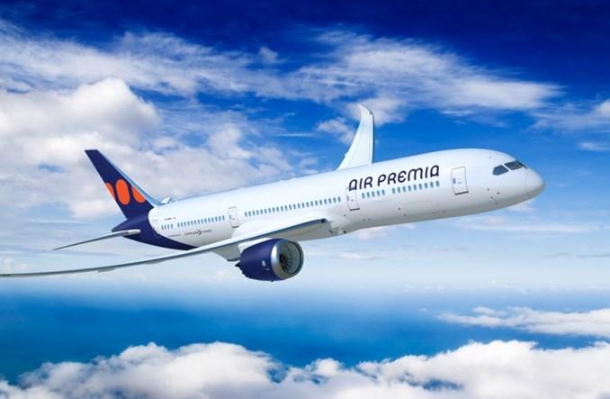 Air Premia: Zobowiązanie do zakupu pięciu boeingów 787-9