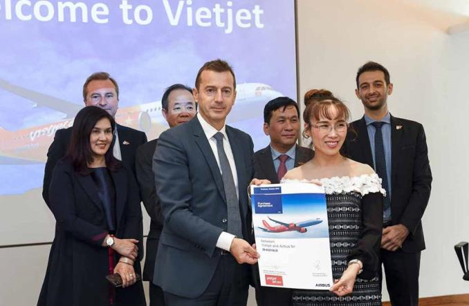 VietJet kolejnym klientem airbusa A321XLR