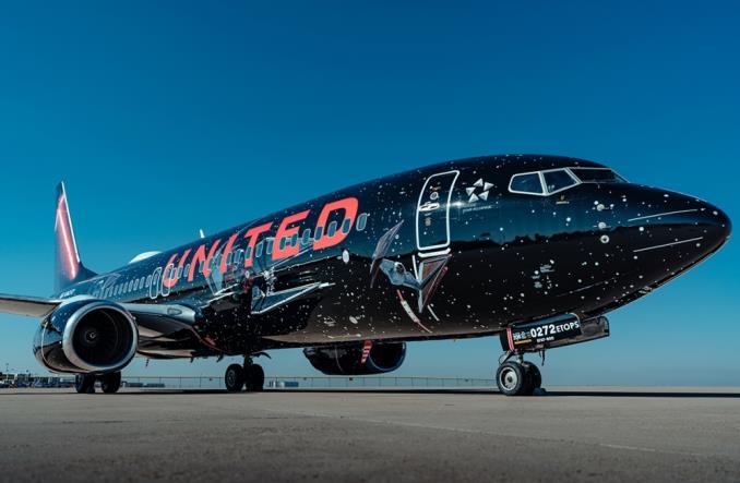 United: Boeing B737 w barwach Gwiezdnych wojen (Zdjęcia)