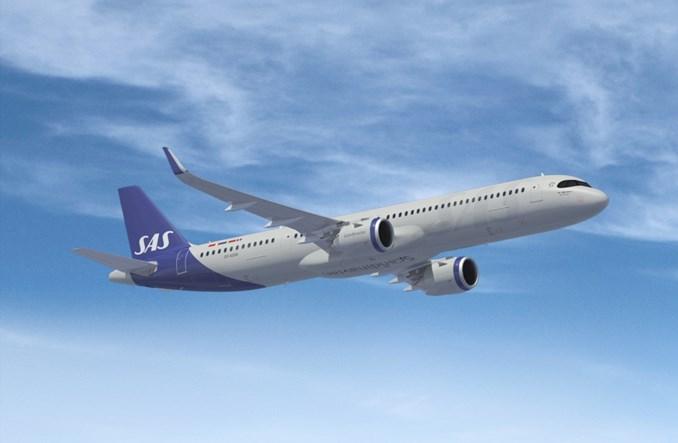 SAS: Pierwszy Airbus A321LR poleci z Kopenhagi do Bostonu