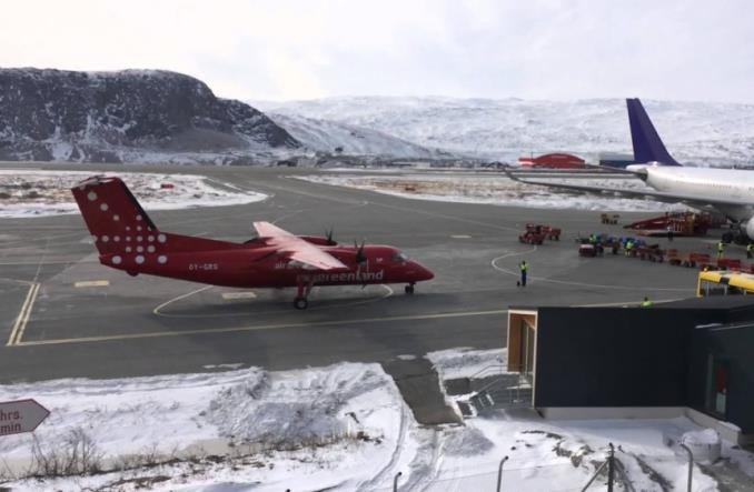 Lotnisko Grenlandii jako ofiara kryzysu klimatycznego