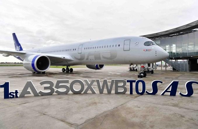 SAS odebrał pierwszego airbusa A350-900