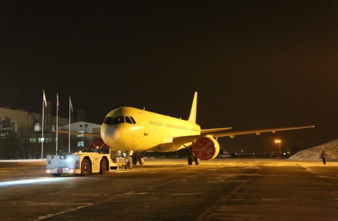 Irkut ukończył montaż czwartego MC-21-300