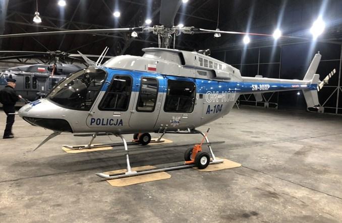 Policja: Pierwszy Bell 407 już w Warszawie