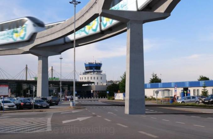 Katowice: Monorail do lotniska?