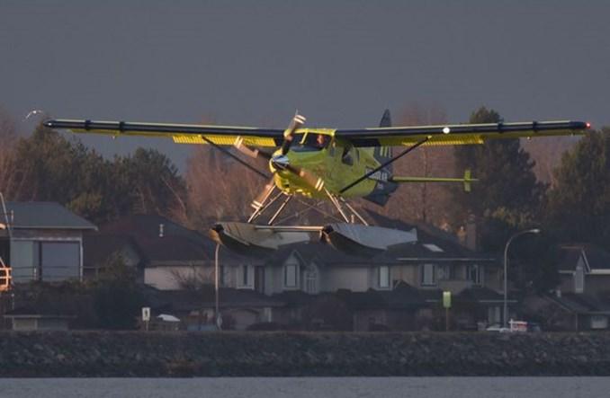 Pierwszy lot elektrycznego DHC-2 Beaver
