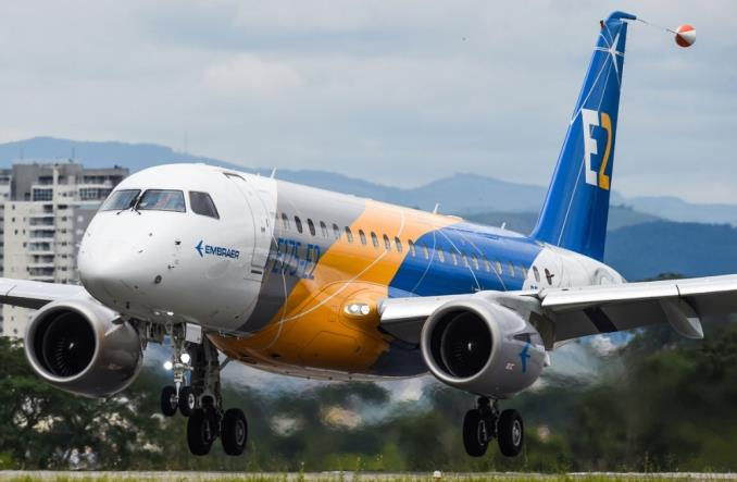 Embraer: Pierwszy techniczny lot E175-E2