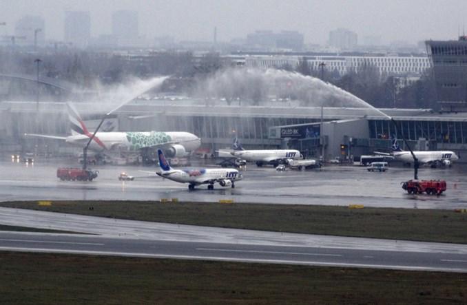 LOT, PAŻP i Lotnisko Chopina świętują sukces Olgi Tokarczuk
