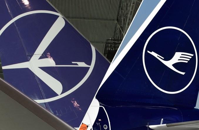 LOT vs. Lufthansa. Spór o zbyt podobne logotypy