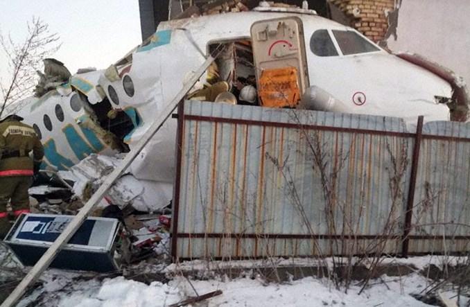 Ałmaty: Fokker F100 linii Bek Air rozbił się po starcie