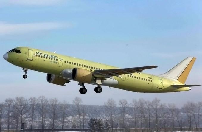 Irkut: Czwarty MC-21 wykonał pierwszy lot