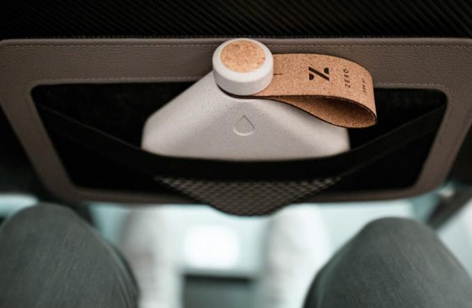 Biodegradowalne opakowania w samolotach. Propozycja projektantów