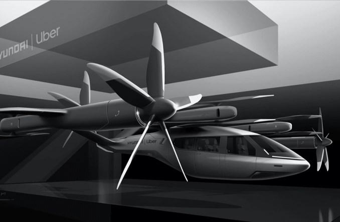 Hyundai Motor oraz Uber wspólnie stworzą latające elektryczne taksówki