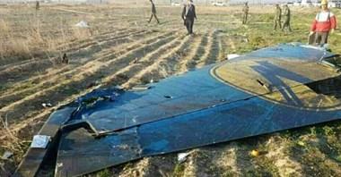 Iran: Zestrzelony samolot UIA trafiony dwoma pociskami