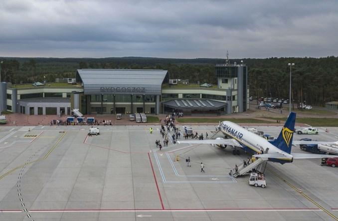 Port Lotniczy Bydgoszcz: W listopadzie 94 proc. pasażerów mniej