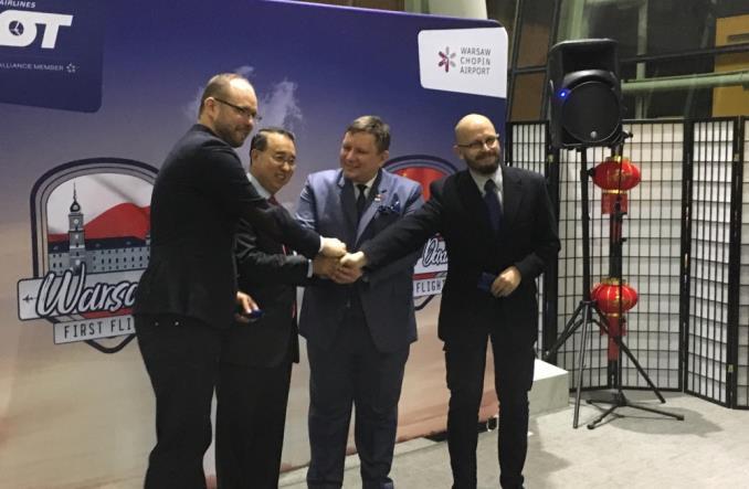 LOT: Ruszyło połączenie Warszawa – Pekin-Daxing