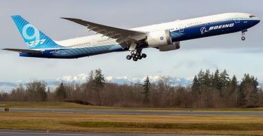 Boeing B777X wykonał pierwszy lot techniczny (Zdjęcia)