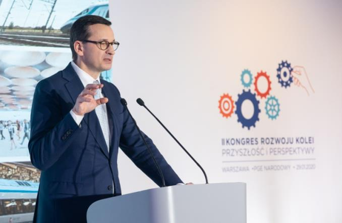 Morawiecki: CPK ma studium lokalizacyjne