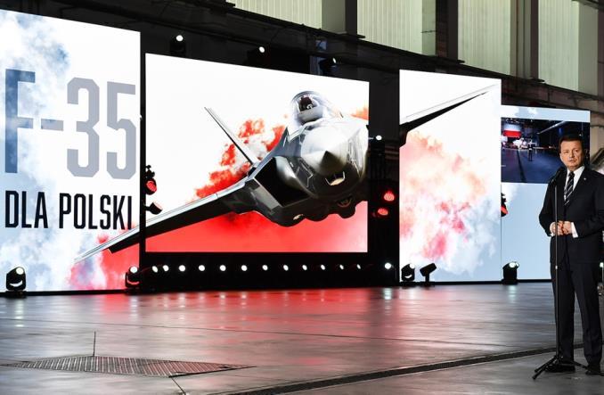 MON: Podpisano umowę na zakup 32 F-35A