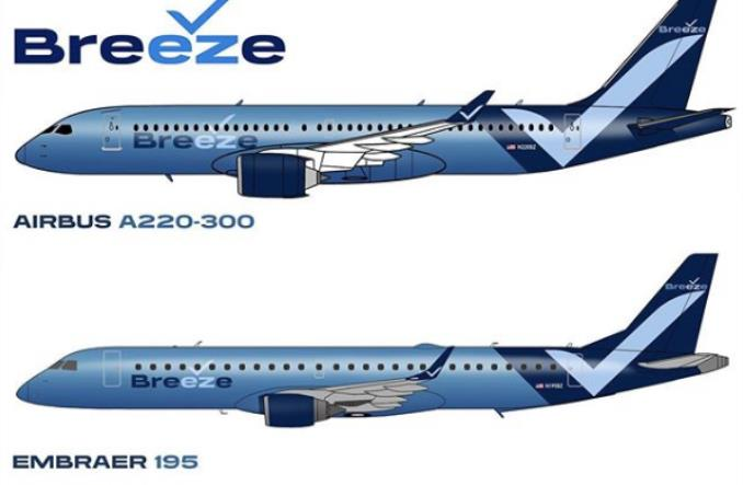 Breeze Airways to nowa linia start-up Neelemana