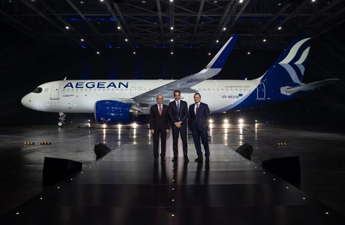 Pierwsze trzy Airbusy A320neo trafiły do Aegean Airlines