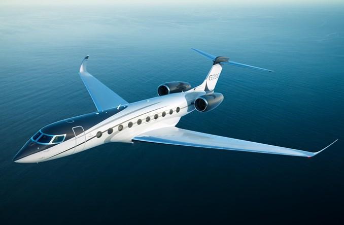 Gulfstream: Pierwszy lot G700